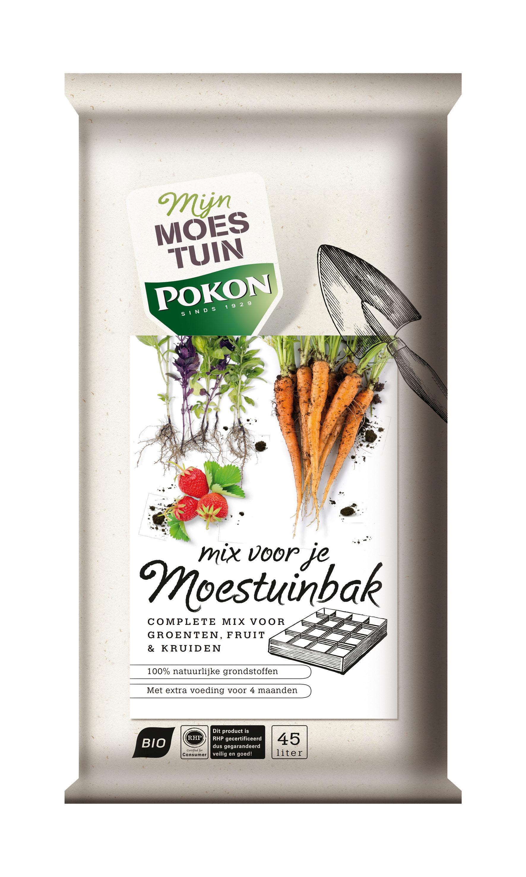 Pokon Mix voor je Moestuinbak 45L