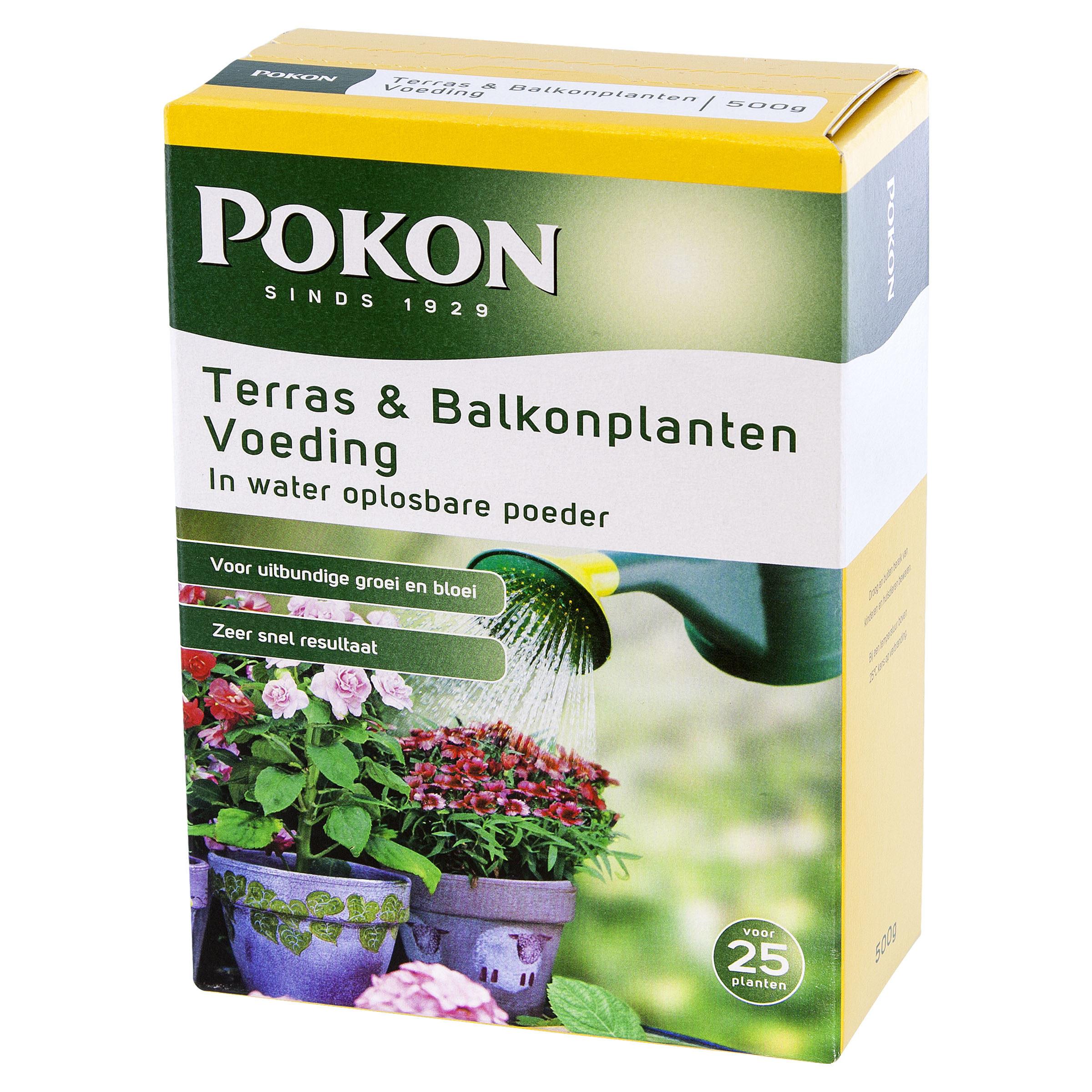 Pokon Terras & Balkon Voeding Wateroplosbaar 500gr rechts