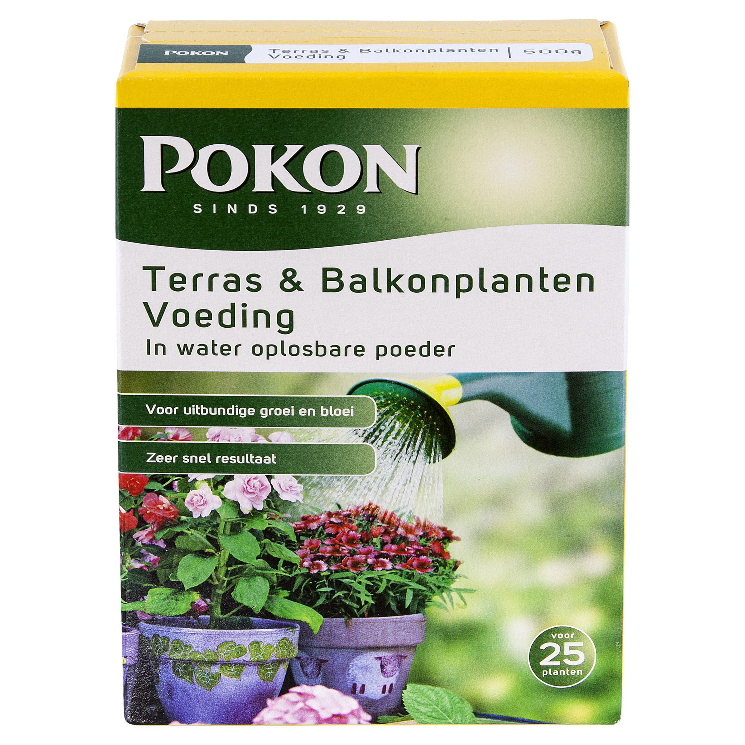 Pokon Terras & Balkon Voeding Wateroplosbaar 500gr over