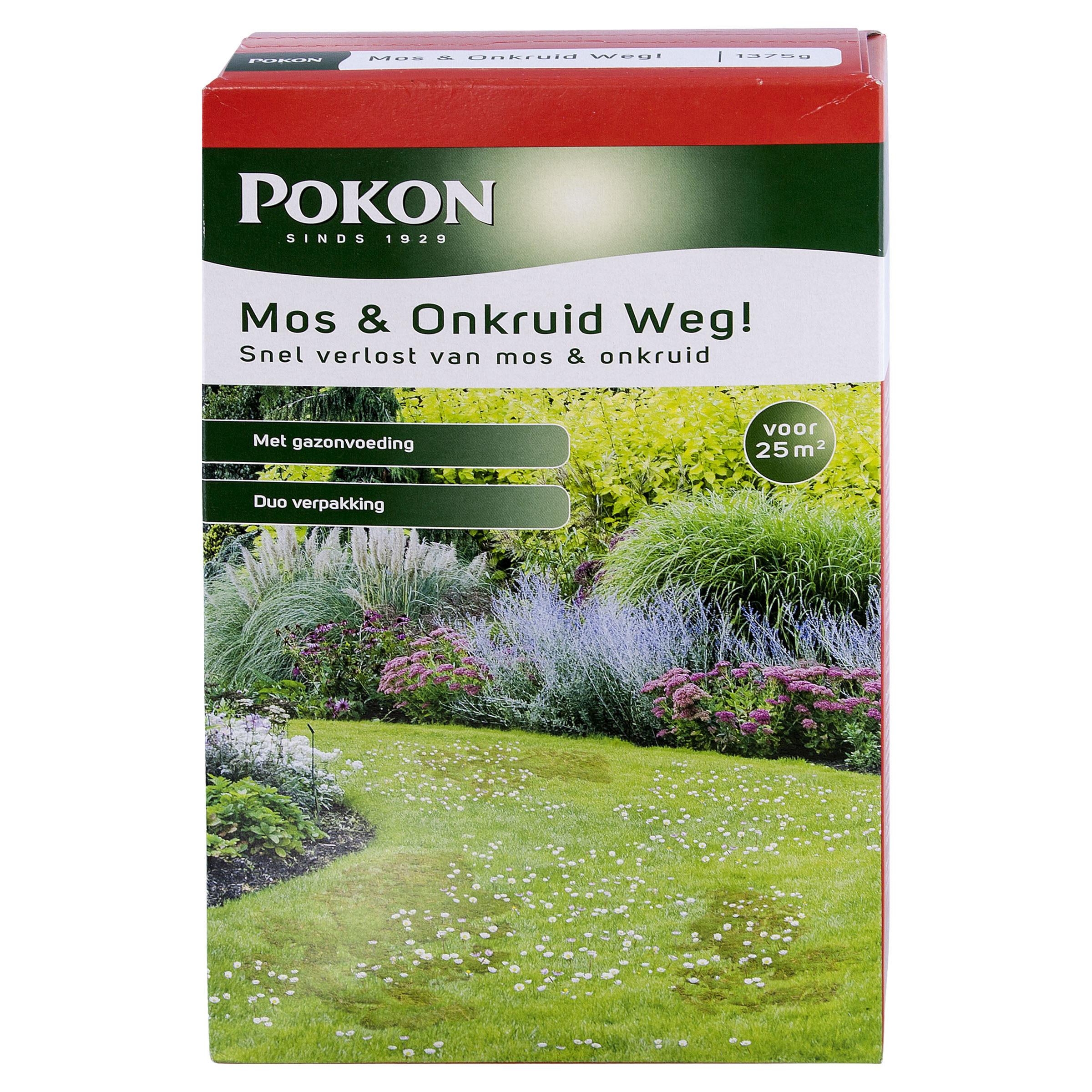 Pokon Mos & Onkruid Weg! 1250gr - cover
